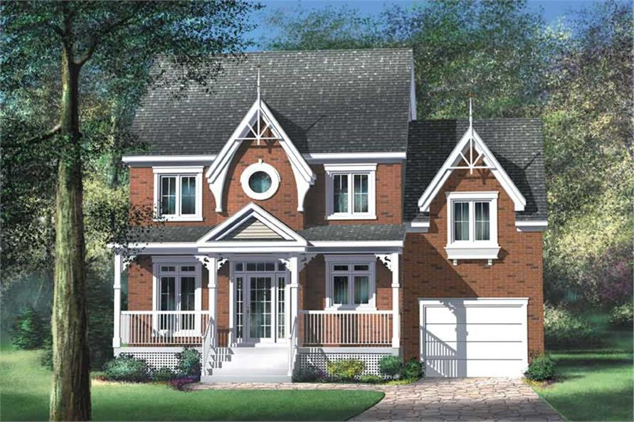 Main image for house plan # 12799