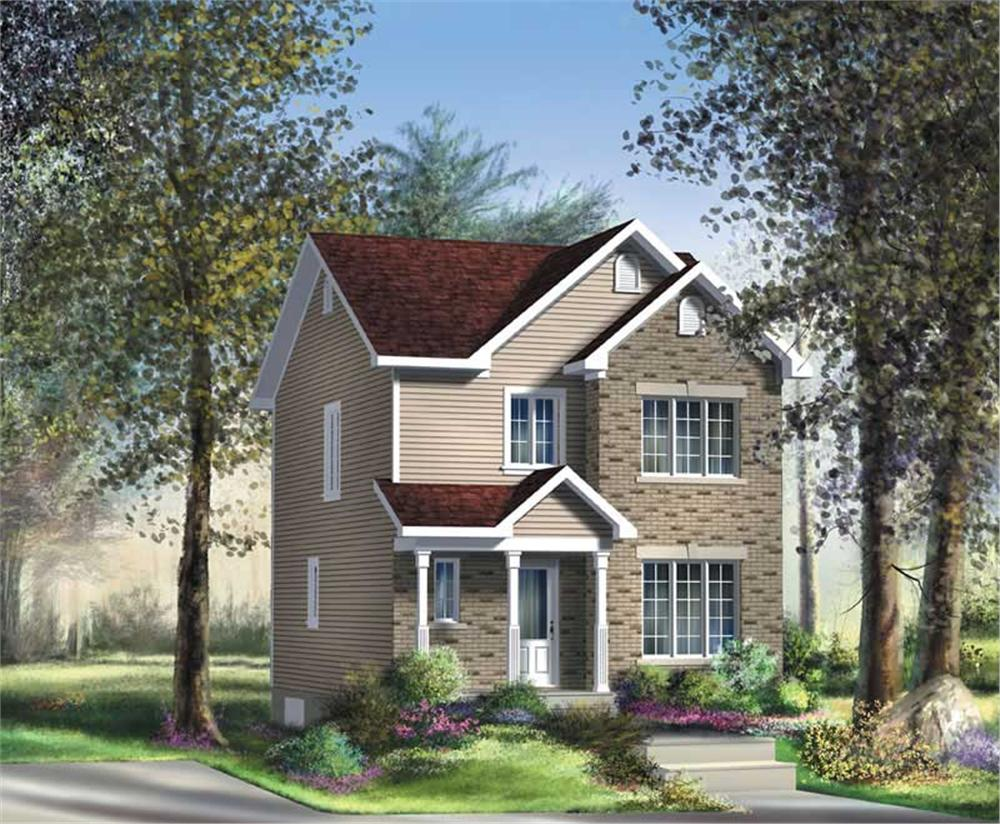 Main image for house plan # 12983