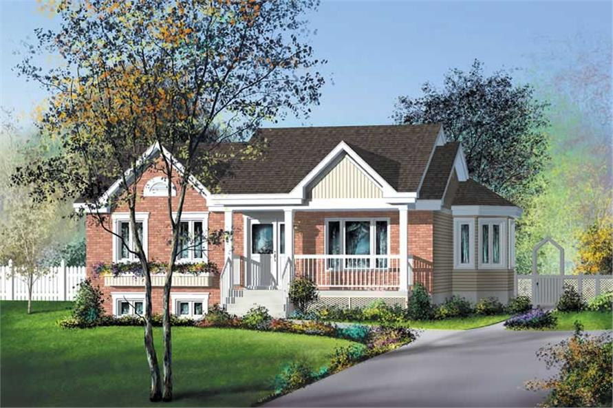 Main image for house plan # 12682