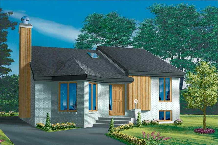 Main image for house plan # 12318