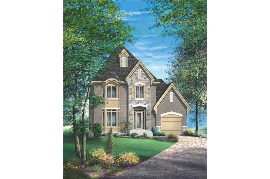 Main image for house plan # 12932