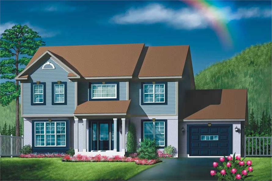 Main image for house plan # 12503