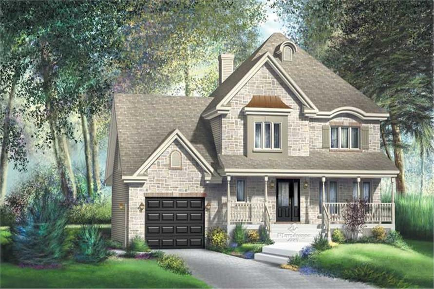 Main image for house plan # 12887