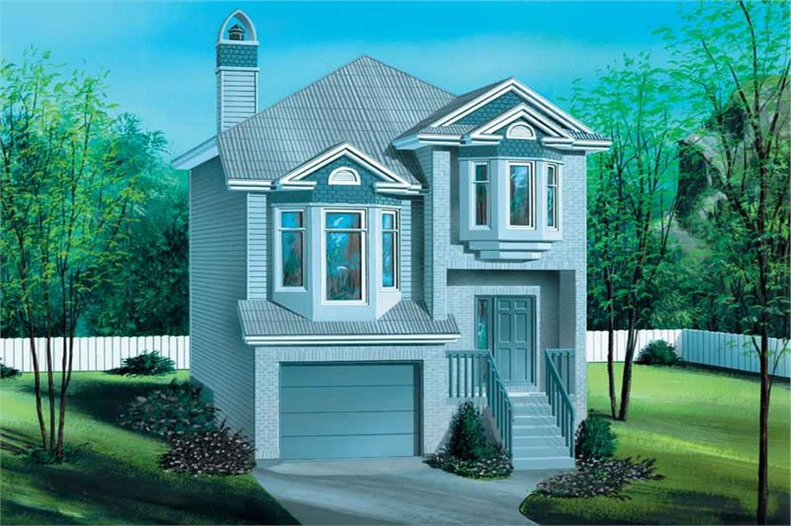 2-Bedroom, 1316 Sq Ft Craftsman Home Plan - 157-1217 - Main Exterior