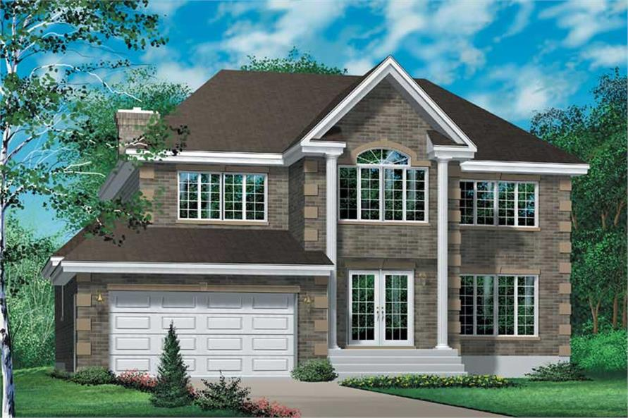 Main image for house plan # 12276