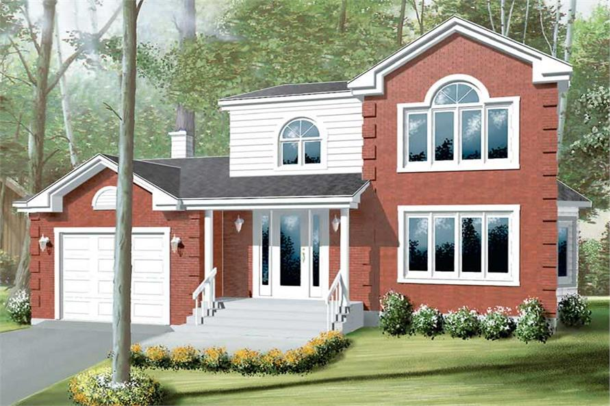 Main image for house plan # 12274