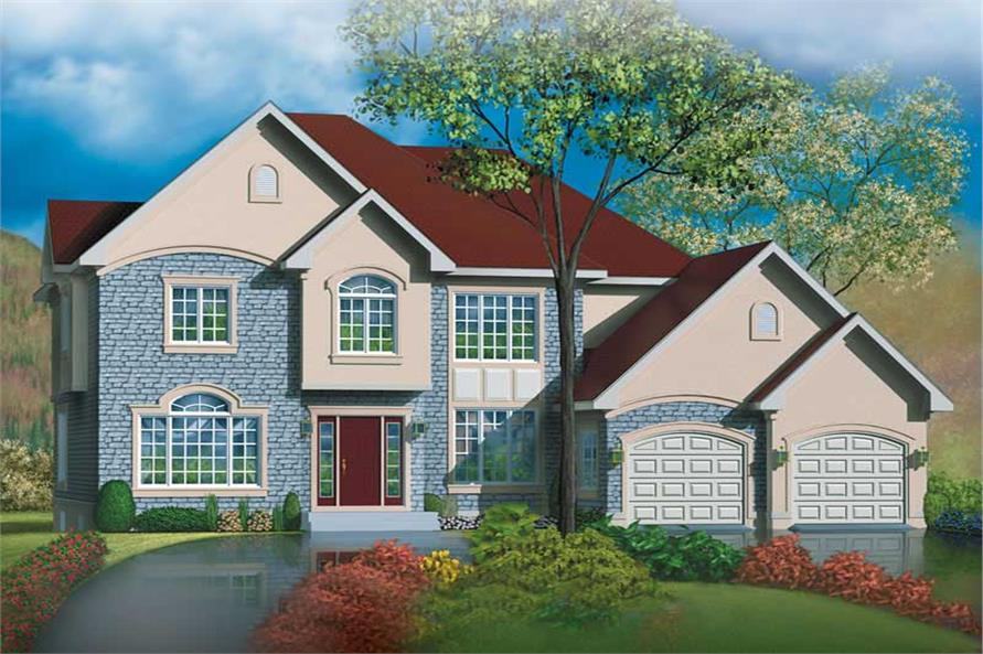 Main image for house plan # 12506