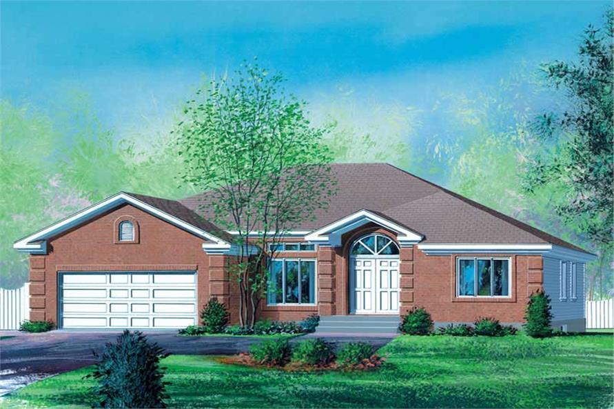 3-Bedroom, 1725 Sq Ft Craftsman Home Plan - 157-1227 - Main Exterior