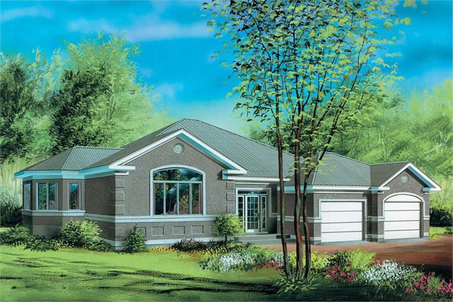 Main image for house plan # 12522