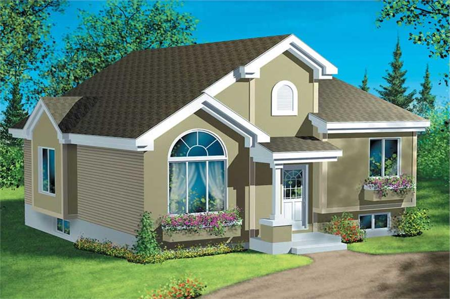 Main image for house plan # 12573