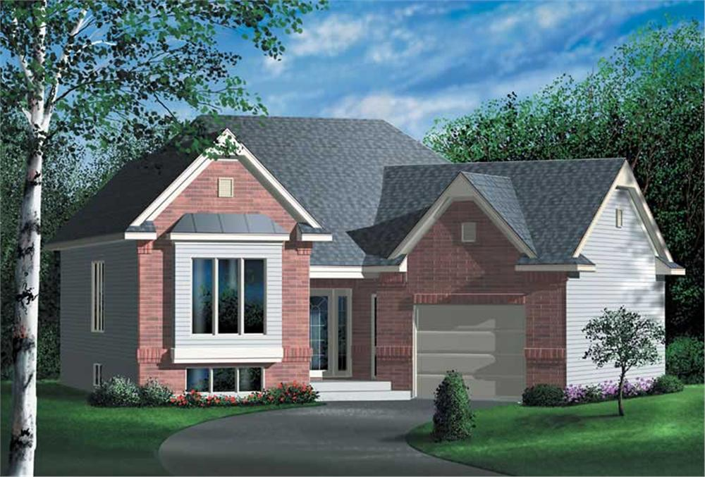 Main image for house plan # 12570