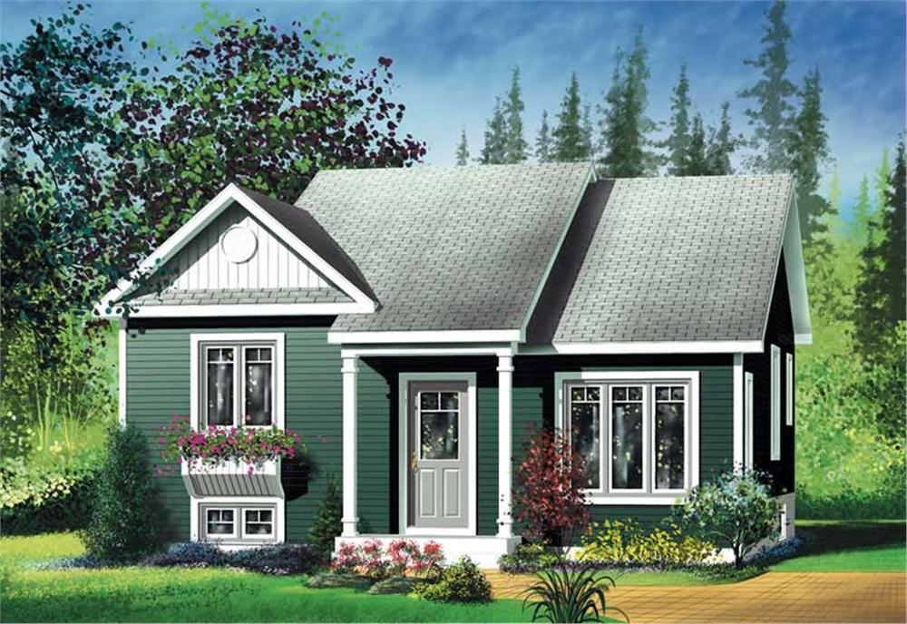 Main image for house plan # 12763