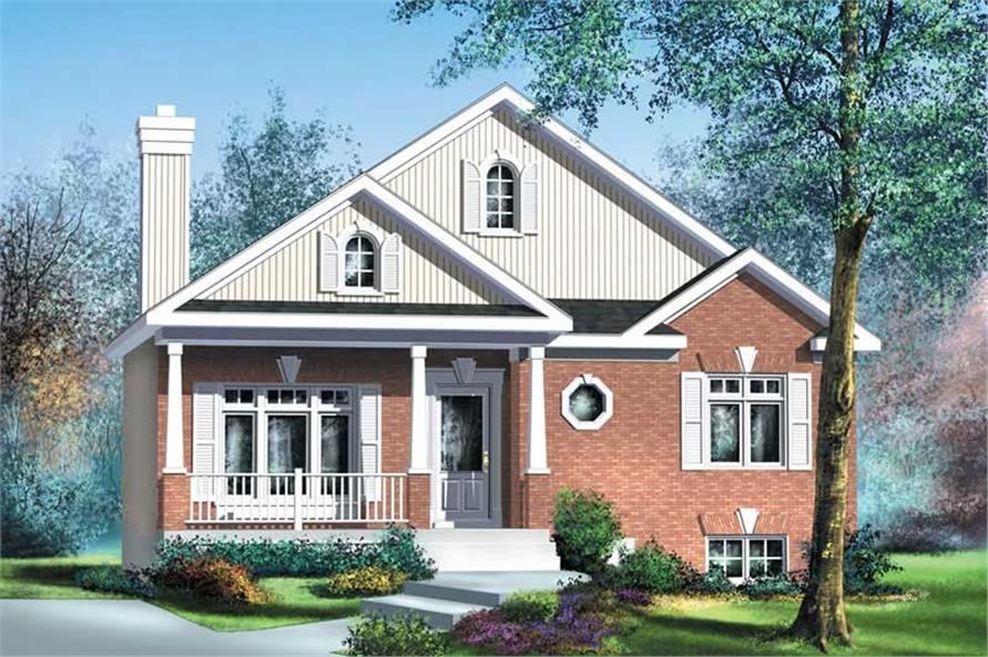 Main image for house plan # 12767