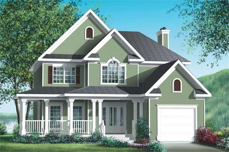 Main image for house plan # 12262