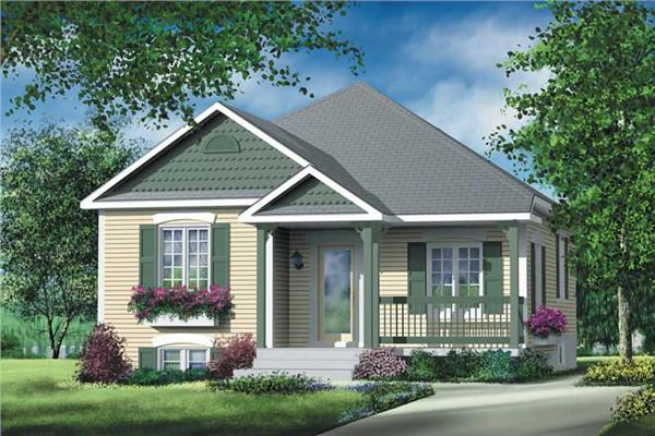 Main image for house plan # 12710