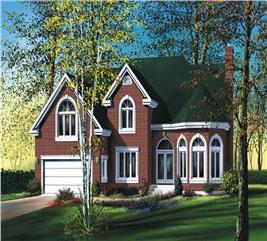 House Plan #157-1256