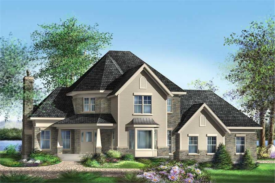 Main image for house plan # 12884