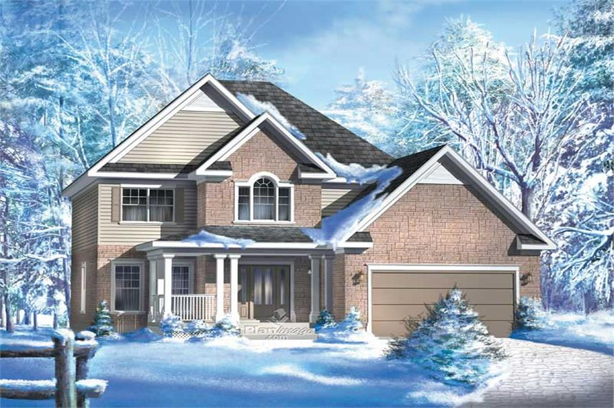 Main image for house plan # 12255