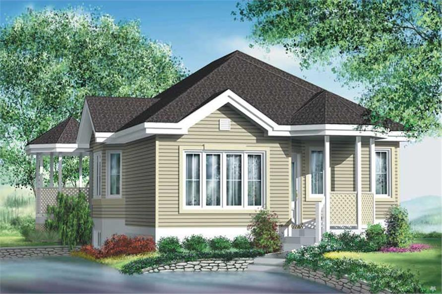 Main image for house plan # 12774