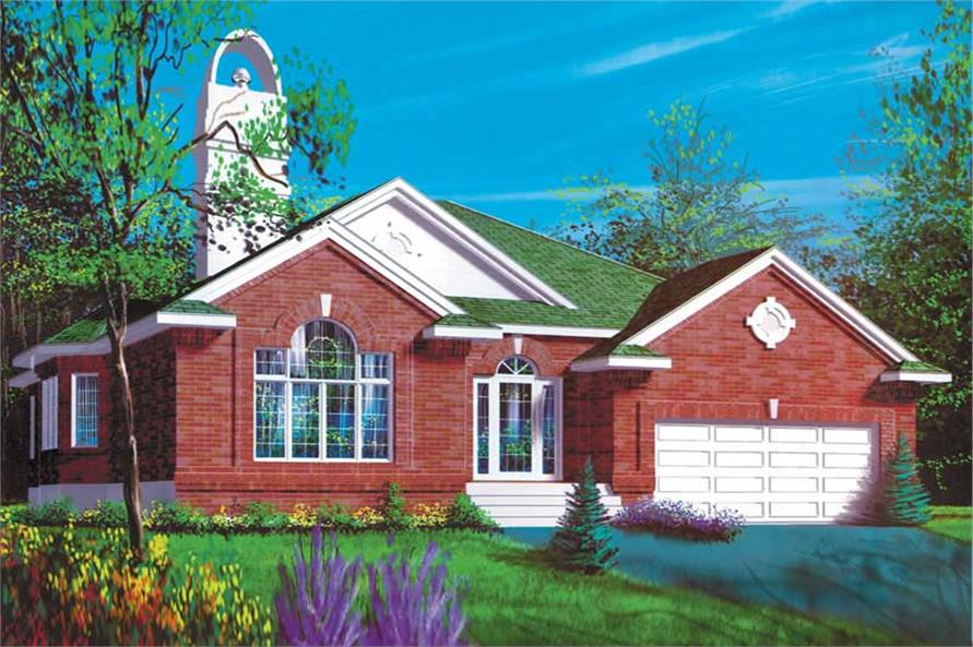 Main image for house plan # 12513