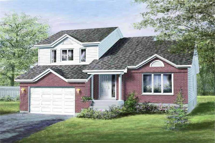 Main image for house plan # 12316