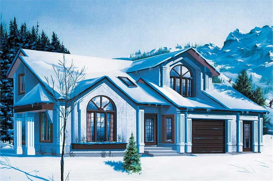 Main image for house plan # 12314