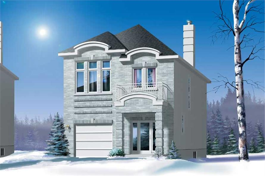 Main image for house plan # 12289