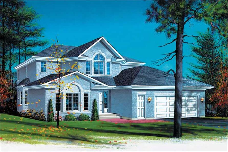 Main image for house plan # 12326