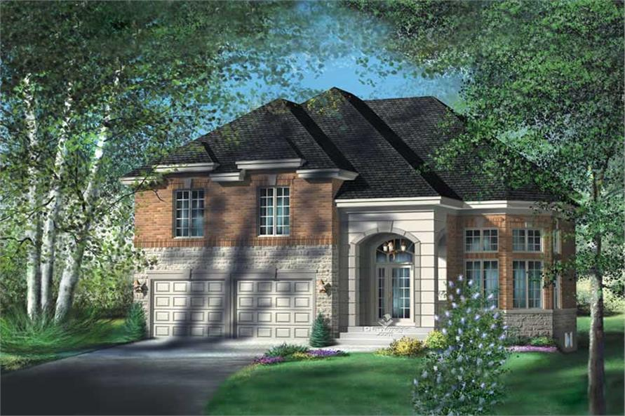 Main image for house plan # 12243