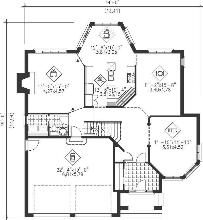 Multi Level House Plans Home Design Pi 20771 12243