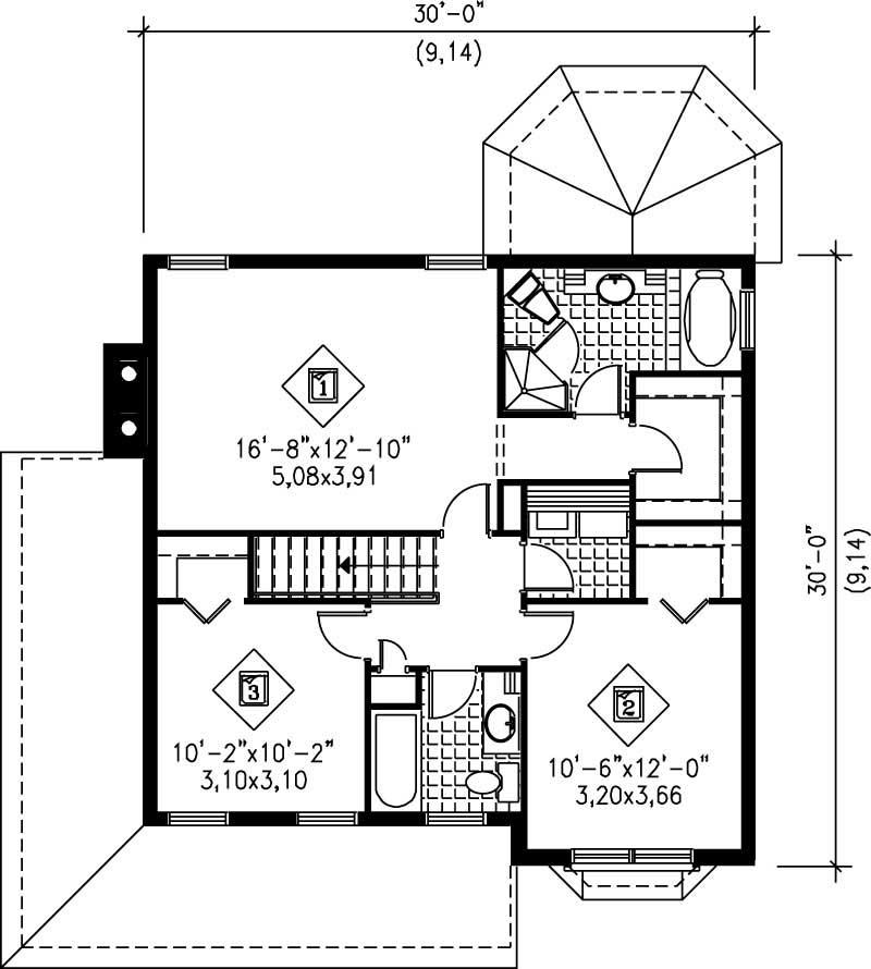 Multi Level House Plans Home Design Pi 20758 12242