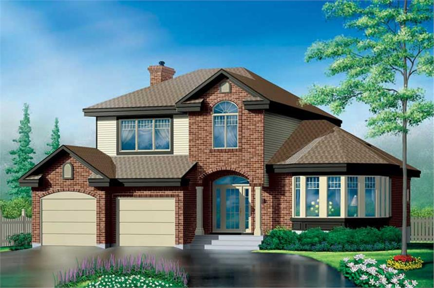 Main image for house plan # 12525