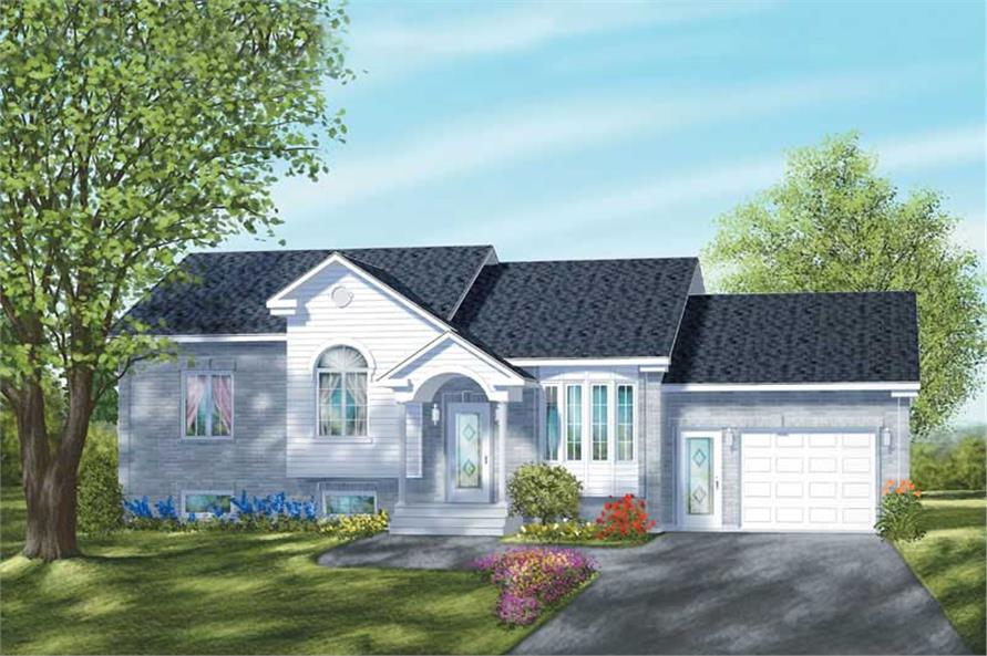 2-Bedroom, 1074 Sq Ft Craftsman House Plan - 157-1280 - Front Exterior