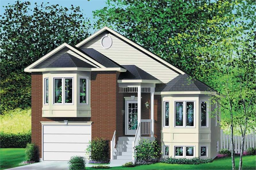 Main image for house plan # 12906