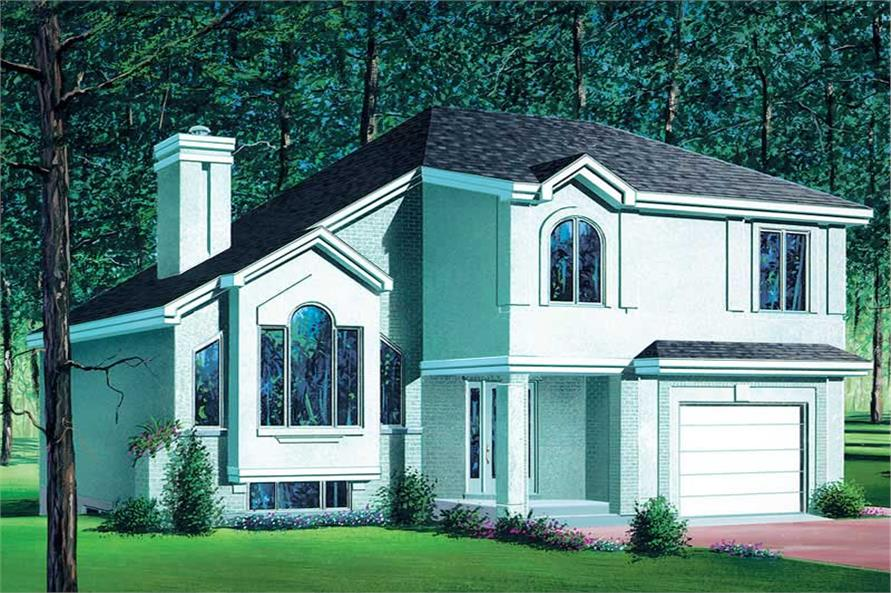Main image for house plan # 12338