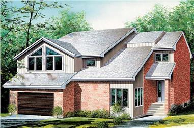 3-Bedroom, 2390 Sq Ft Craftsman Home Plan - 157-1288 - Main Exterior