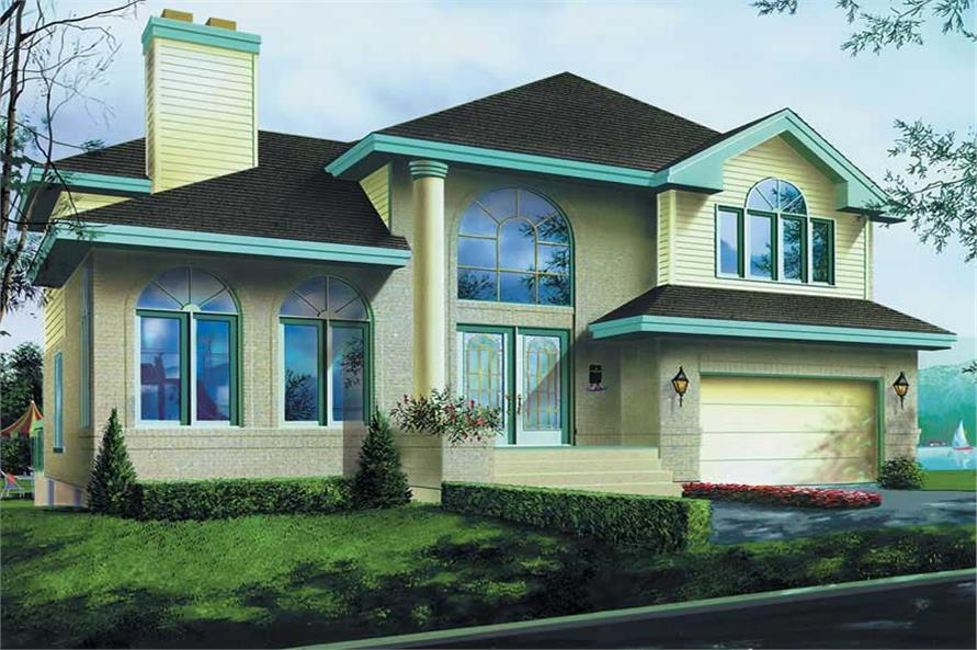 Main image for house plan # 12331