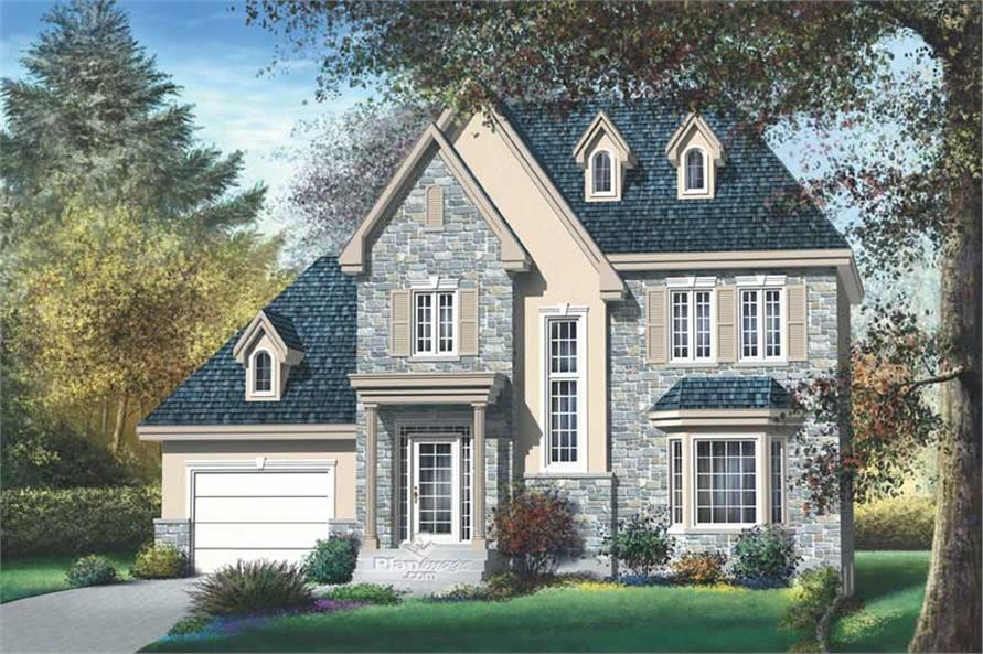 Main image for house plan # 12904