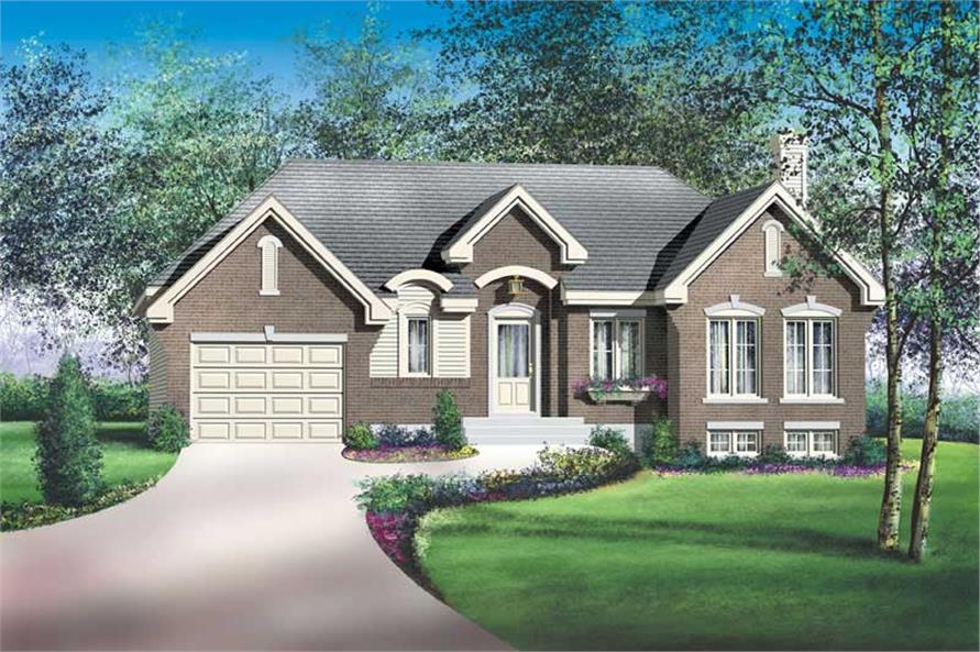 Main image for house plan # 12700