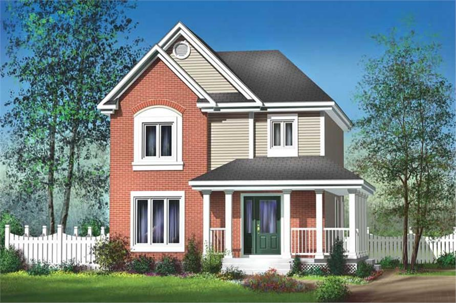 Main image for house plan # 12889