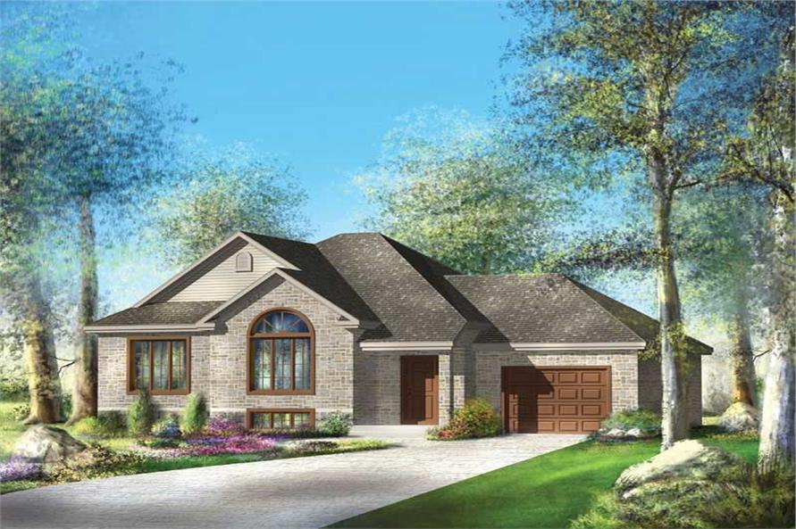 Main image for house plan # 12684