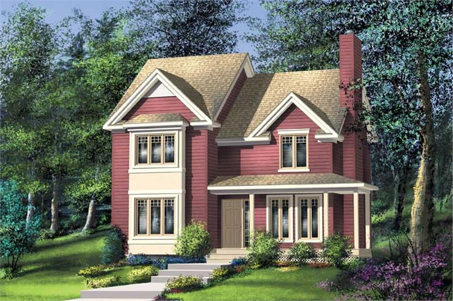 Main image for house plan # 12918