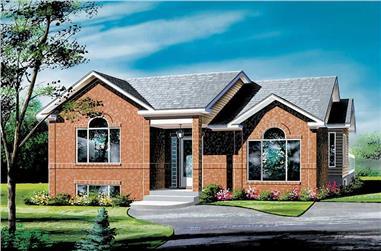 3-Bedroom, 1132 Sq Ft Ranch Home Plan - 157-1318 - Main Exterior