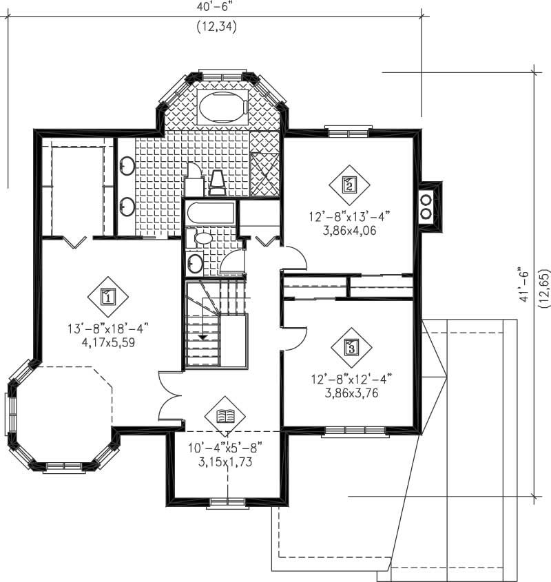 Multi level house plans home design pi 20454 12222 for Multi level floor plans