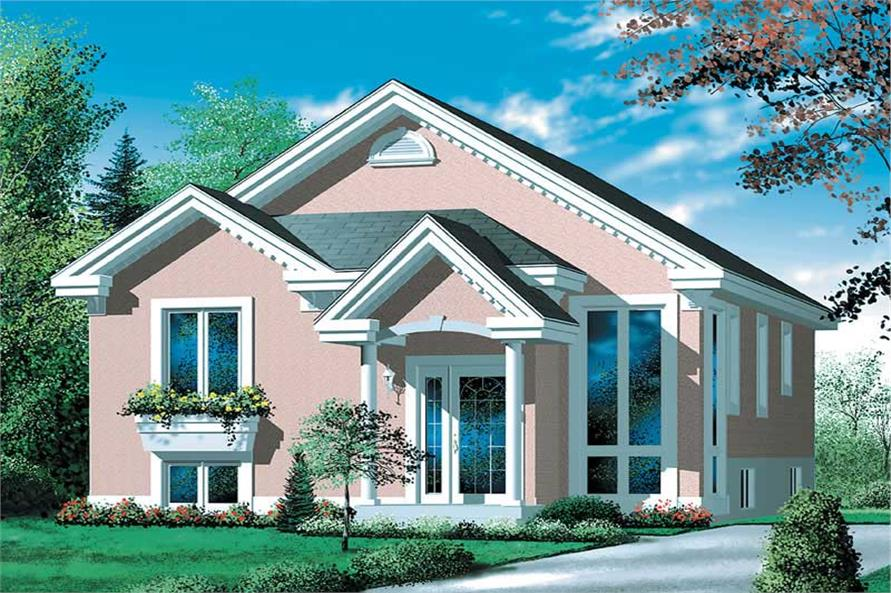 Main image for house plan # 12579
