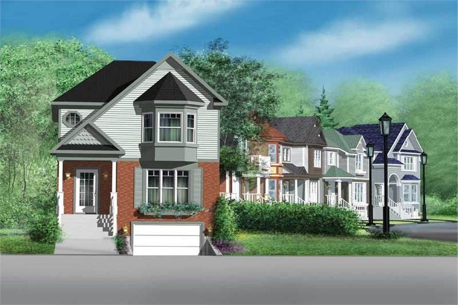 2-Bedroom, 1758 Sq Ft Ranch Home Plan - 157-1327 - Main Exterior