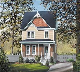 House Plan #157-1328