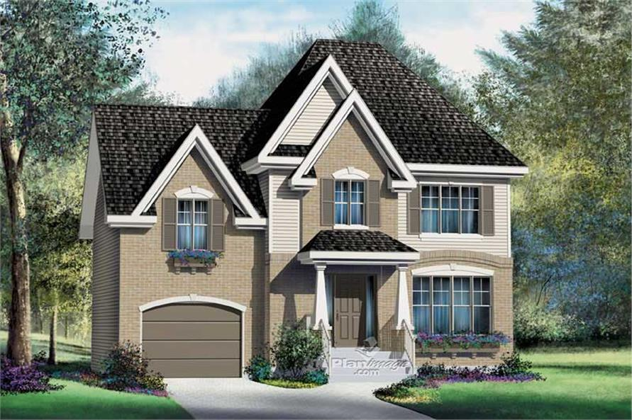 Main image for house plan # 12892