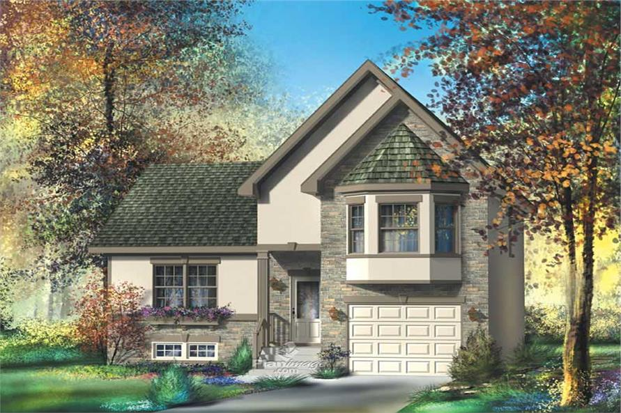 3-Bedroom, 1785 Sq Ft Craftsman House Plan - 157-1330 - Front Exterior