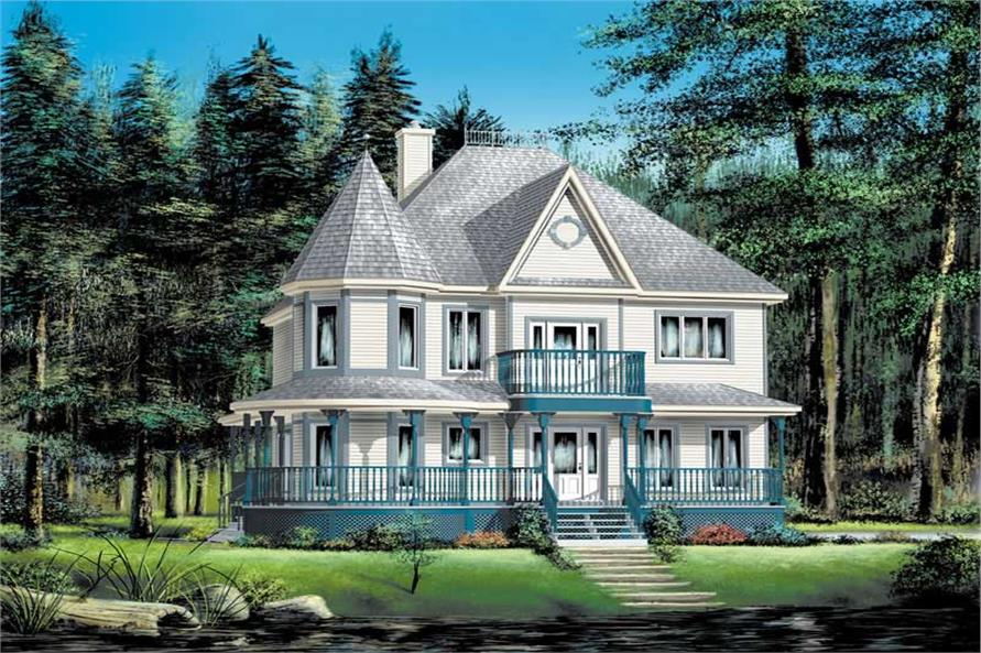 Main image for house plan # 12208